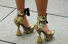 LOUIS VUITTON HEELS