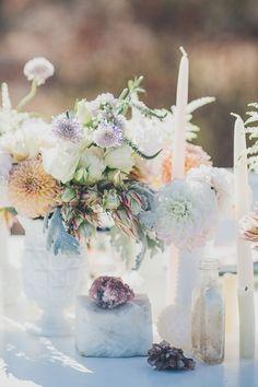 Desert bohemian bridal shower inspiration | Photo by Steve Cowell Photo | Read more - http://www.100layercake.com/blog/?p=81196