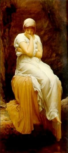 Solitude by Lord Frederick Leighton...