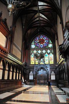 USA, Massachusetts, Boston, Cambridge, Harvard University Memorial Hall