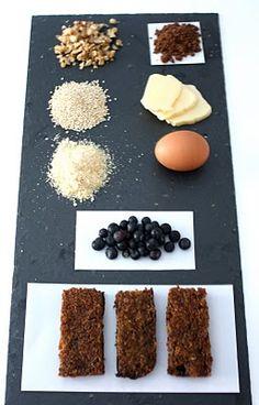 quinoa blueberry bars