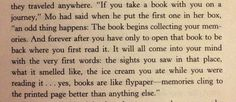 Quote from Inkheart that is an awesome descriptions for books! Memory fly paper