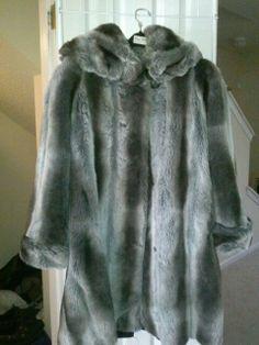 Tissavel .. VERY Rare chinchilla - Oleg Cassini  designed for Pamela McCoy   paid $800   for sale  only $400 !!!