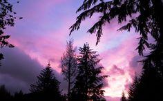 Juneau, Alaska: A break in the storm in 2010...