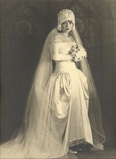 Jeune mariée vintage