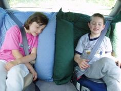 NAPPERNOO The kid comfort  car seat pillow used with by rebeccak55, $42.99