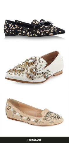 Shop the 14 embellished loafers we're obsessed with right now: http://www.fabsugar.com/35078819