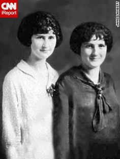"iReporter Janie Lambert from Hughesville, Maryland, says good hair runs in the family. Her aunt was a hair stylist for years and her great aunt worked a beauty shop. She shared this image of her grandmother, right, and great aunt from ""the mid '20s or early '30s,"" she said. ""They were inspired by movie stars and celebrities, especially the flapper era, silent movie."""