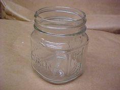 8 Oz Square Mason Jar Case Of 12-no Lids