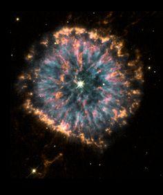 The Glowing Eye of NGC 6751