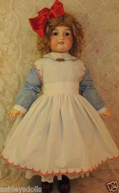 "LARGE 30"" Armand Marseille Antique German Bisque Doll, AM 390 Antique Doll!!"