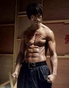 Bruce Lee Ab Challenge | The Skinniest You