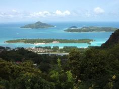 Seychelles, panoramic view, island