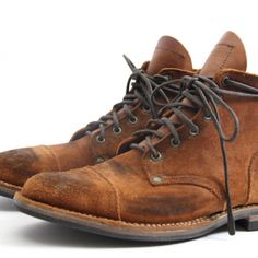 Nigel Cabourn / Viberg Oiled Army Boots