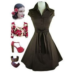 50s Clothing 50s style pin up clothing