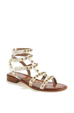 Love these strappy gladiator sandals!