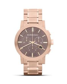 Burberry Rose Gold Bracelet Watch