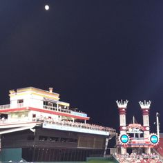 Night view of Great American Ballpark. Home of the Cincinnati Reds.