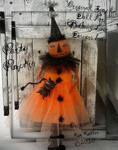 Pumpkin doll.