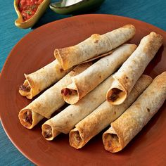 Runnels Family Recipes: Shredded Beef Taquitos - Baked!