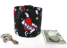 Kids Secret Stash Money Cuff Just Love hide your by bluepiedesigns, $10.00