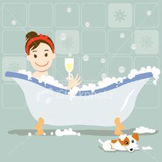 Bubble Bath Day!