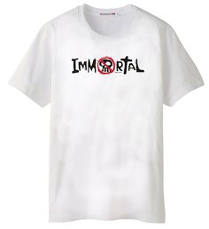 "Immortal  JT149  It's the opposite of the poison warnings on bottles of Iodine.  ""For the wages of sin is death, but the gift of God is eternal life through Jesus Christ our Lord."" Romans 6:23     $10.95"