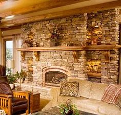 Cultured Stone Fireplaces | ... cost savings over natural stone makes it a terrific value, as well