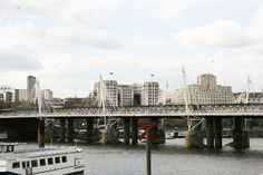 AD100 architect Lee F. Mindel tours London's legendary crossings: Hungerford Bridge