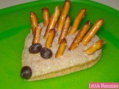 Fun Food:  Hedgie the Hedgehog Sandwich