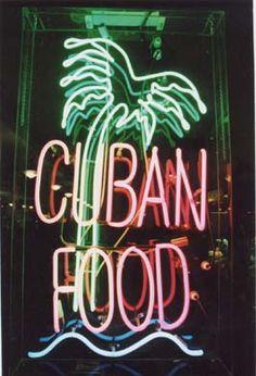 cuban food YUM...