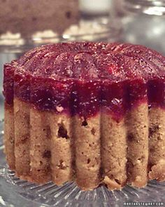Cranberry Steamed Pudding Recipe