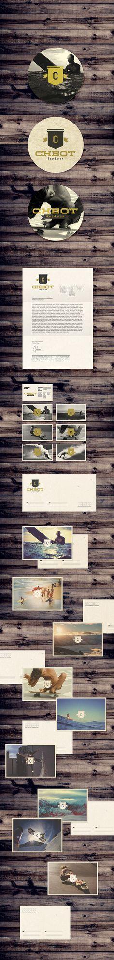 Skvot Boardshop Rebranding  & postcards