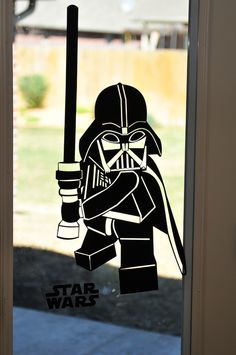 Star Wars Birthday Party Darth Vader Decal