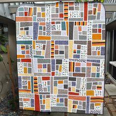 mosaics, color, beauti quilt, quilts, happi camp