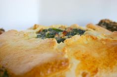 Savory Crostada With Chard, Mushrooms and Onion