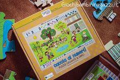 Puzzle per bambini gigante ed ecologico