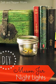 DIY Mason Jar Night Lights