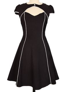 Flight Of Fashion Retro Dress at PLASTICLAND copy!