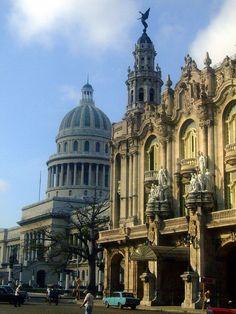 National Theater & Capitolio ~ La Havana, Cuba
