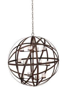 Candle Chandelier on sale for $179.00 (regularly $400.00) at HauteLook.com ~ from Rustic Lighting and Decor