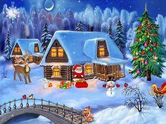 Free Screensavers   Free Christmas Screensaver - Christmas Symphony - FullScreensavers.com