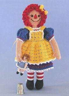 crocheted dolls free patterns | CROCHET PATTERNS DOLLS « Free Patterns