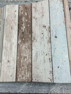 Behang op hout