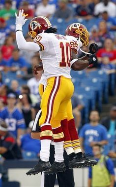 RG3 heats up in 3rd drive of Redskins win