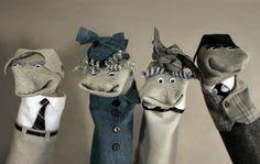 Socky Puppets. socki puppet, sock puppets