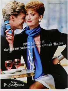 Vintage Perfume Ads of the 1980s