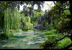 Monet's Water Garden Pond, Giverny, France