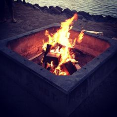 Bonfire date night.