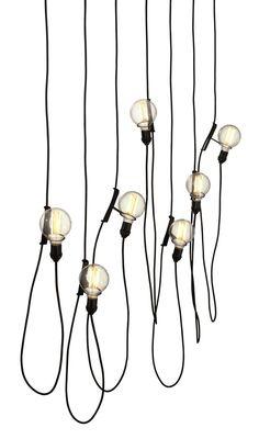 Luminária pendente Dinn, de aço carbono, 12 x 10 cm de diâmetro, de Jader Almeida